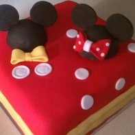 Mickey & Minnie Togther!